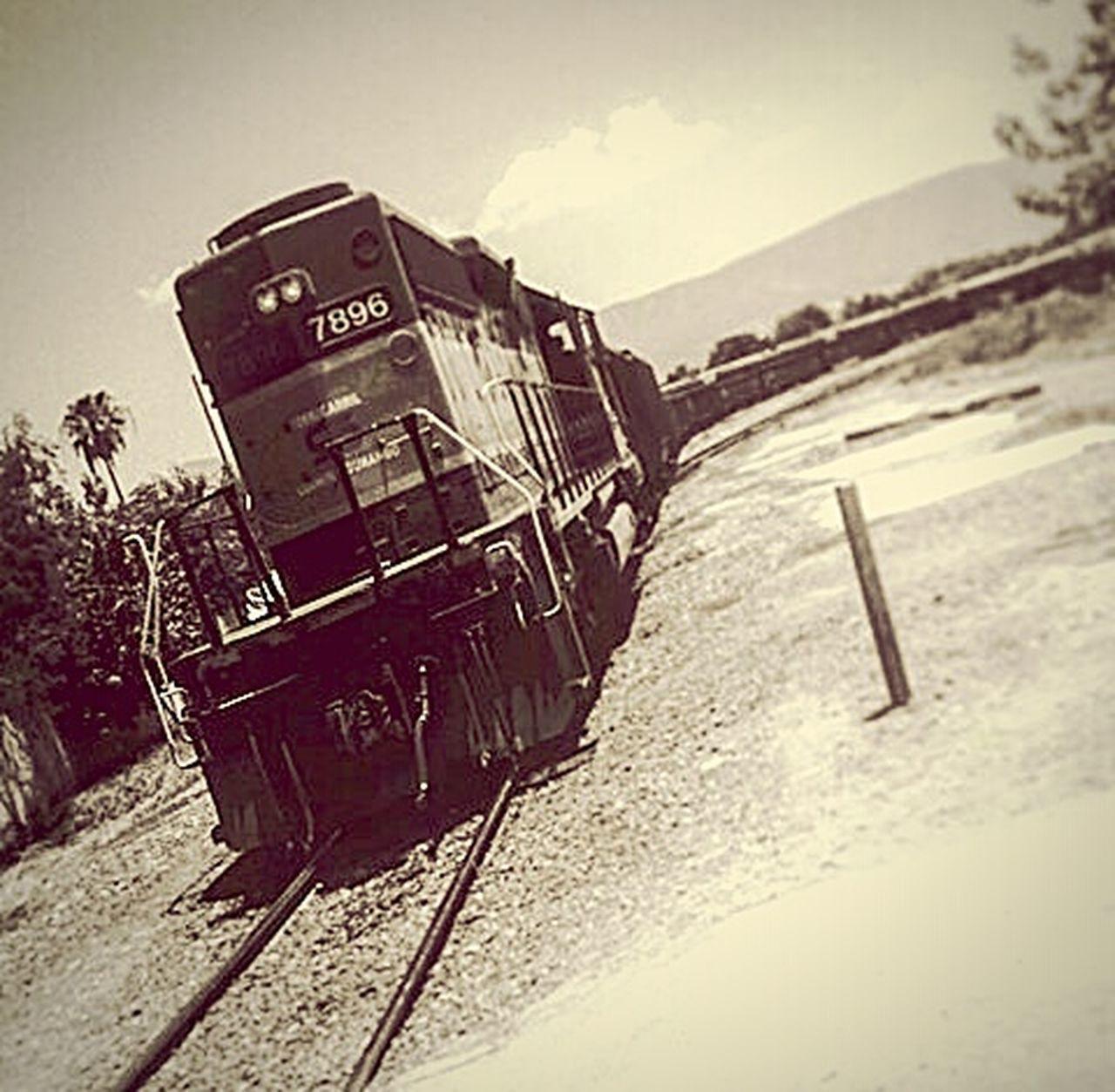 Old 40s Locomotor Locomotoravieja Mexico Monclova Ferrocarril Photography