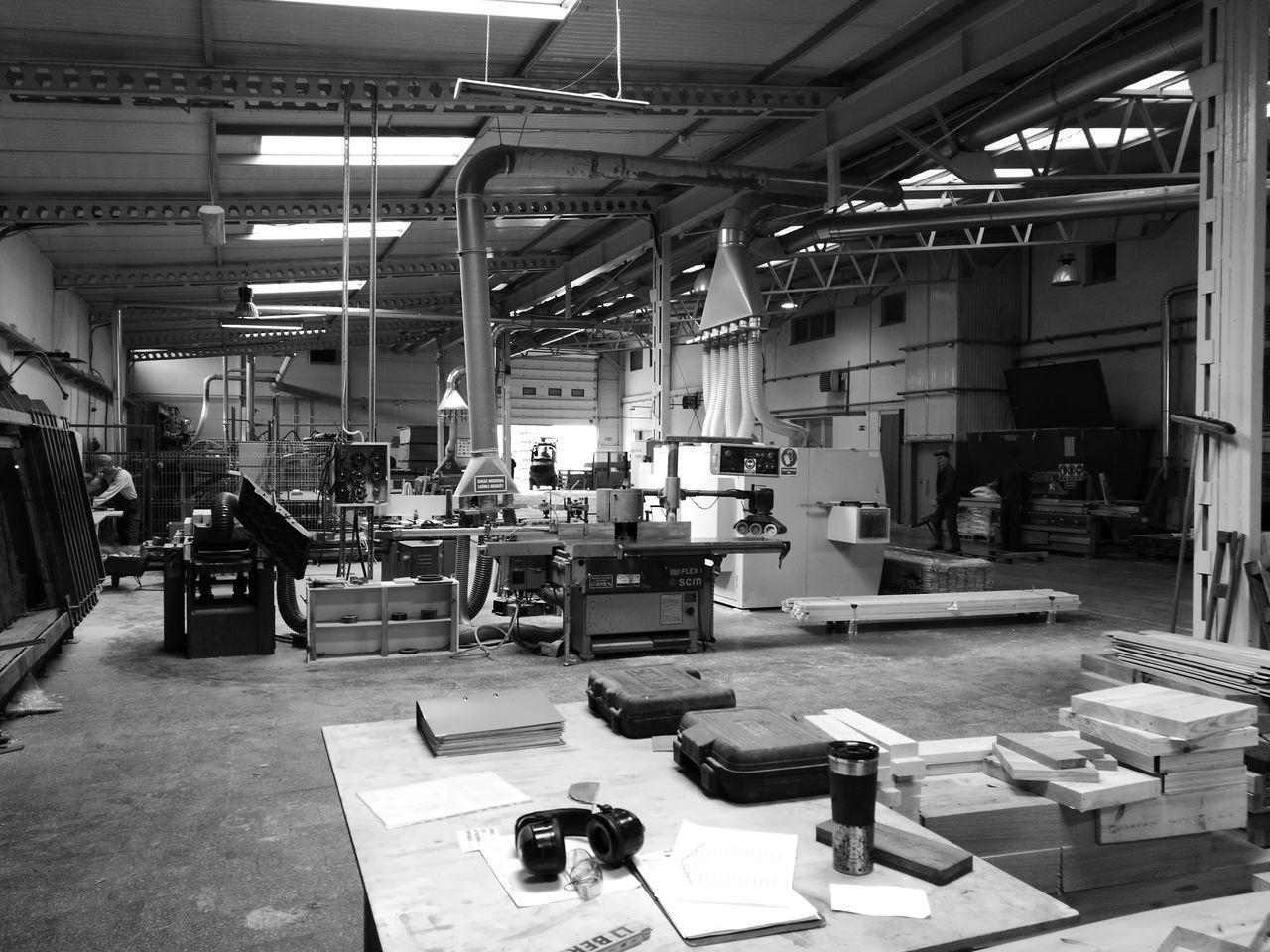 First Eyeem Photo EyeEmNewHere Blackandwhite In Work Factory Industry Smartphonephotography