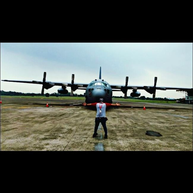 Pesawat miring kapten