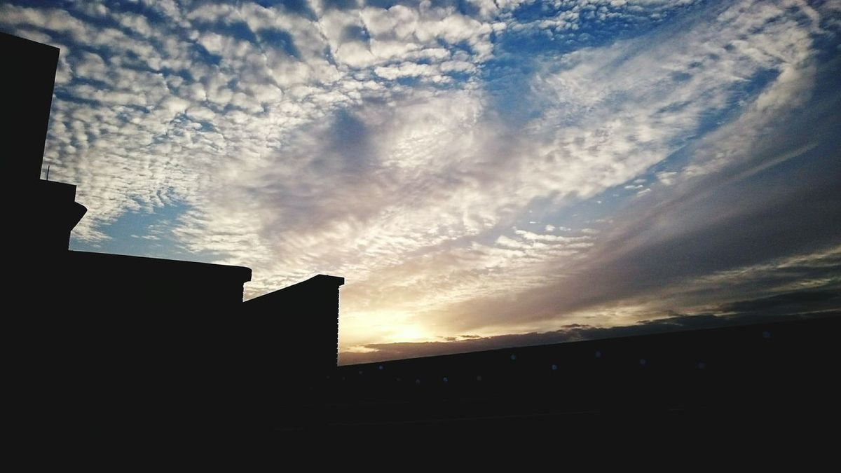 Rooftop Nightclouds Peckham Clouds And Sky