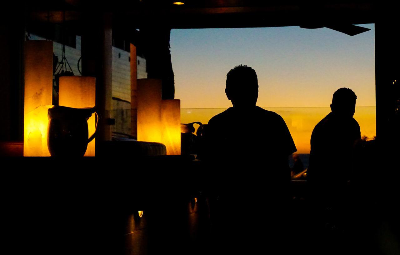 Silhouette Sunset Only Men Adults Only Indoors  Men Adult People Teamwork Cityscape Laguna Beach A6000 Photographer Photography Alpha6000 Sony A6000 EyeEmBestPics SonyAlpha6000 Eye4photograghy Looking Through Window PerspectiveShot Eyemphotography Followme Random Acts Of Photography Street Journalism
