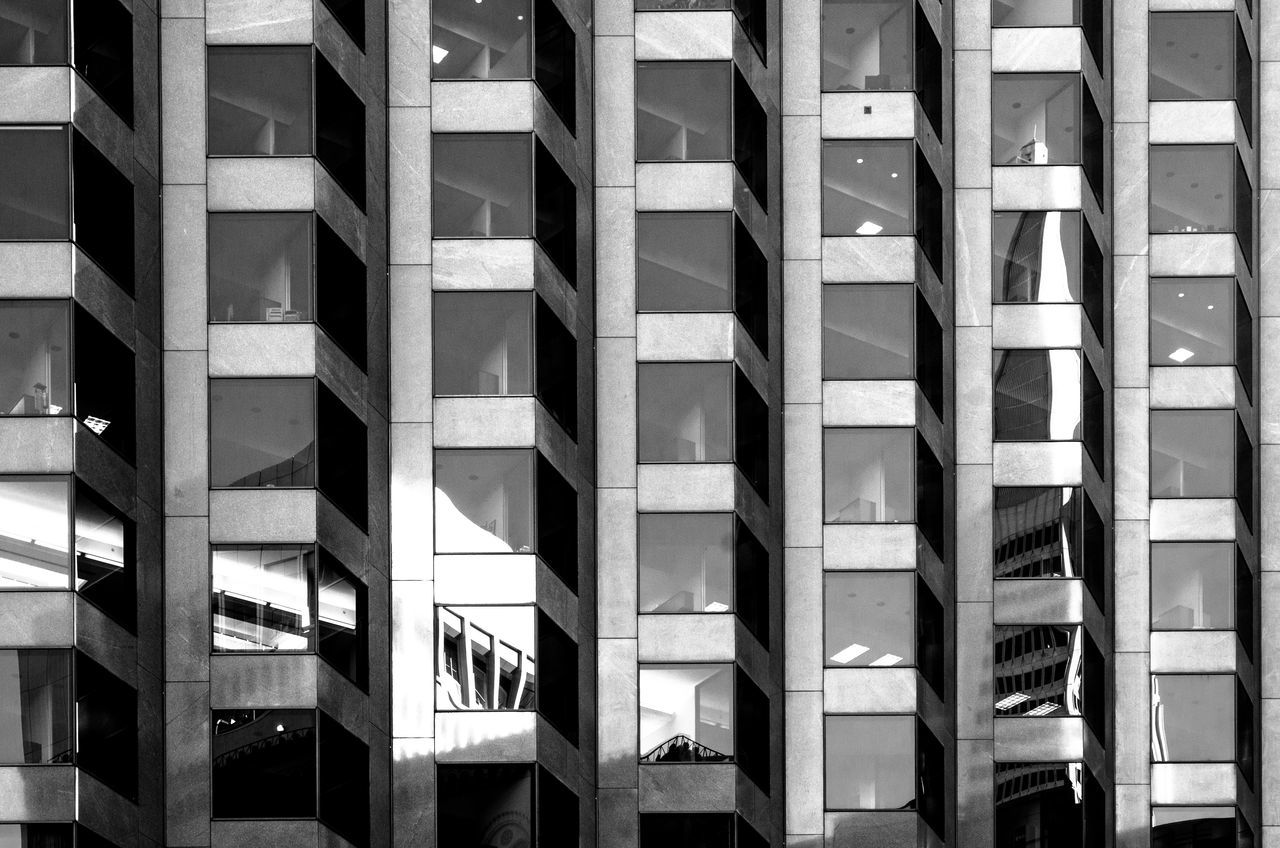 Architecture Architecture With WhiteWall Blackandwhite Bnw Bnw_architecturelines Bnw_friday_eyeemchallenge Building Building Exterior City EyeEm Best Shots Fortheloveofblackandwhite Geometry Glass Glass - Material Lines Patterns Shootermag Structures Texture Urban Window Beautifully Organized Welcome To Black