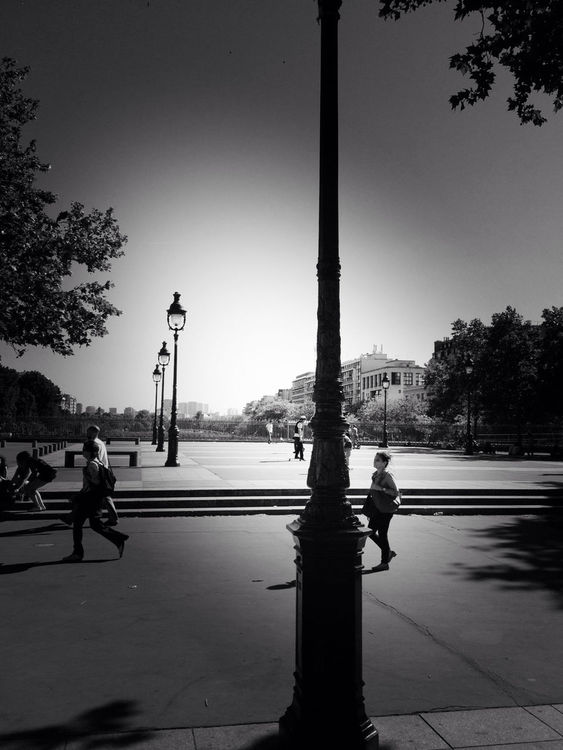 blackandwhite at Place de la Bastille by Black and White