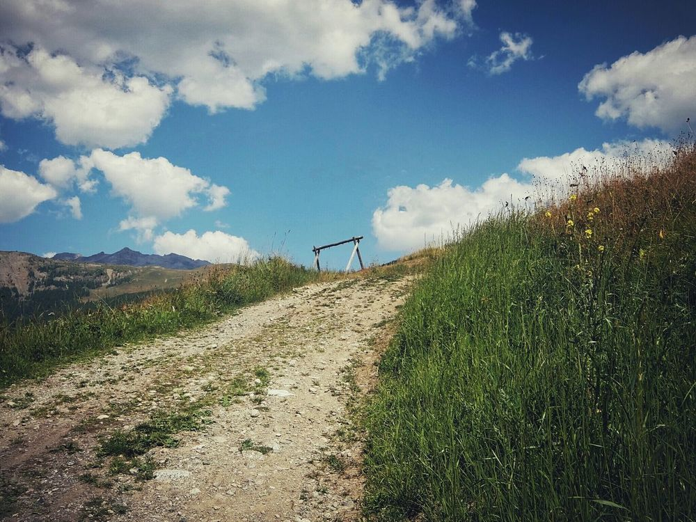 Remnants of the past Livigno Valtellina Alps Mountains And Sky Seesaw Remnants Of A Good Time. Fujifilm Fujifilm XQ2