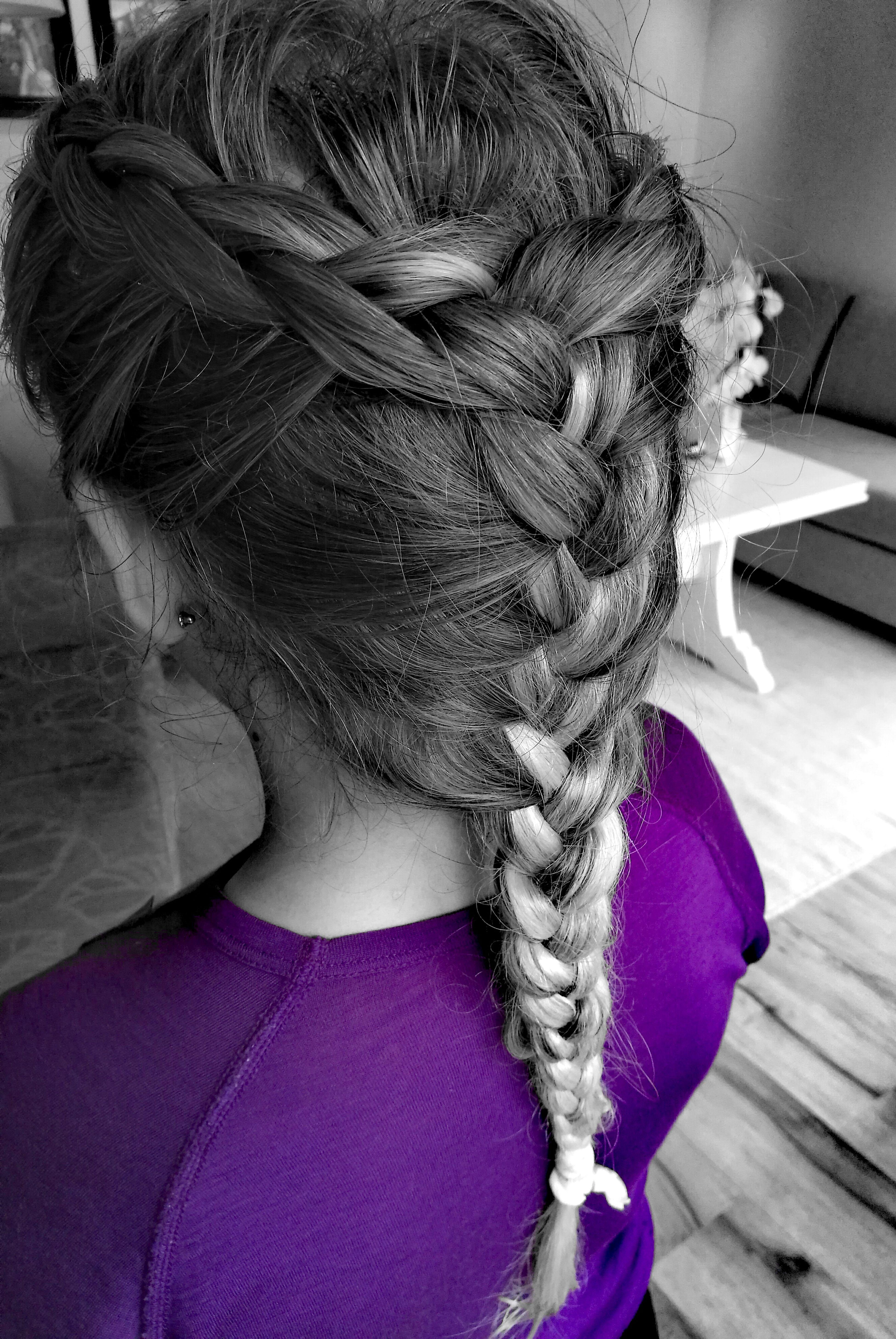 Hair My Little Girl Nordic Hair Purple Everydaylife