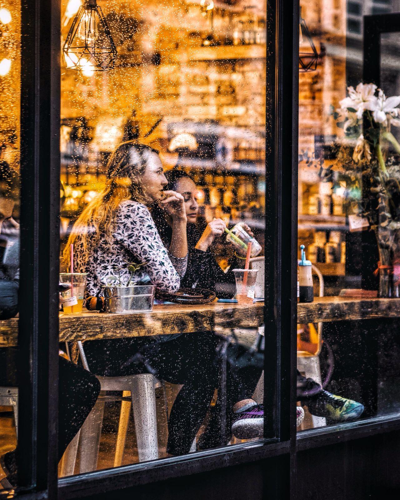 Enjoy The New Normal Glass - Material Looking Through Window Window City Abstractart EyeEm Best Shots