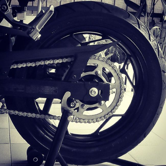 Kawasaki Paddock Motorcycle Chain Lube Silkolene