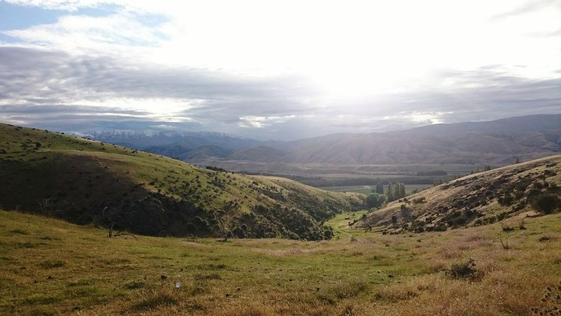 Just beautiful Travel Newzealand Hills Mountains Naturelovers Backpacking New Zealand Traveling Green Grass Farmwork