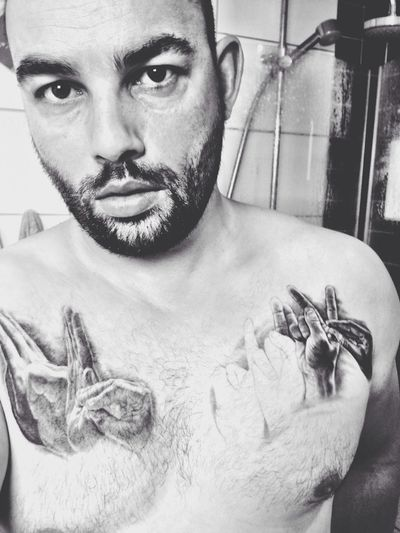 Showing My tattoos.. Not finished yet but soon..