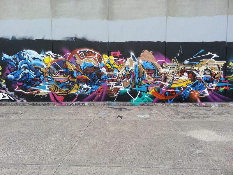 Treas Dem189 Streetart Graffiti