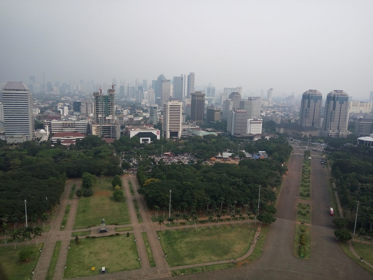 Indonesia monas INDONESIA Monas View From Above View From Monas