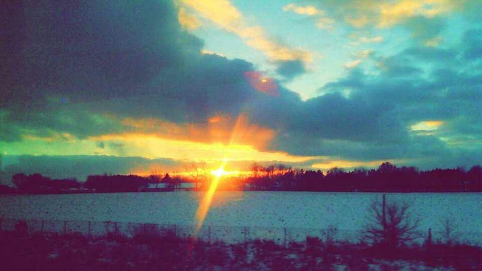 Wisconsin Madison Winter View😍