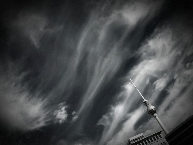 Berlin black and white Architecture Clouds Bw Bw_collection Germany Sky Sky And Clouds Black & White bl