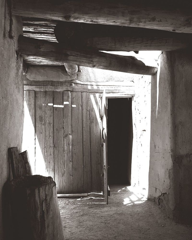 Light and shadow at Old Bent's Fort. Colorado Photography Colorado Blackandwhite Southwest  Cowboy Indian Native American Oldmexico Spanish American Adobe Architecture Rustic Primitive Mexican Trading Post