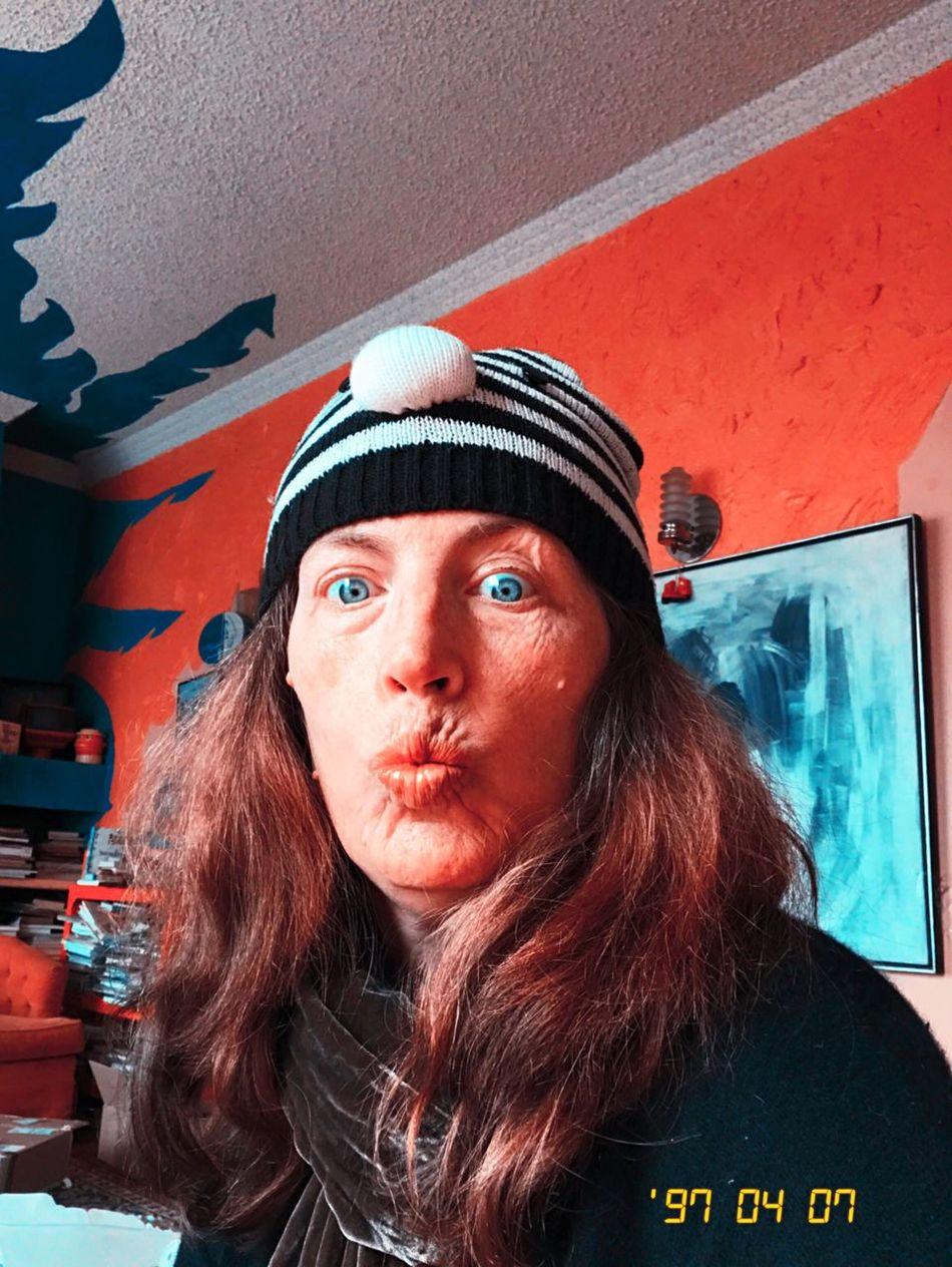 Colorshift Kissimmee Hipstamatic Koduckgirl Looking At Camera Me