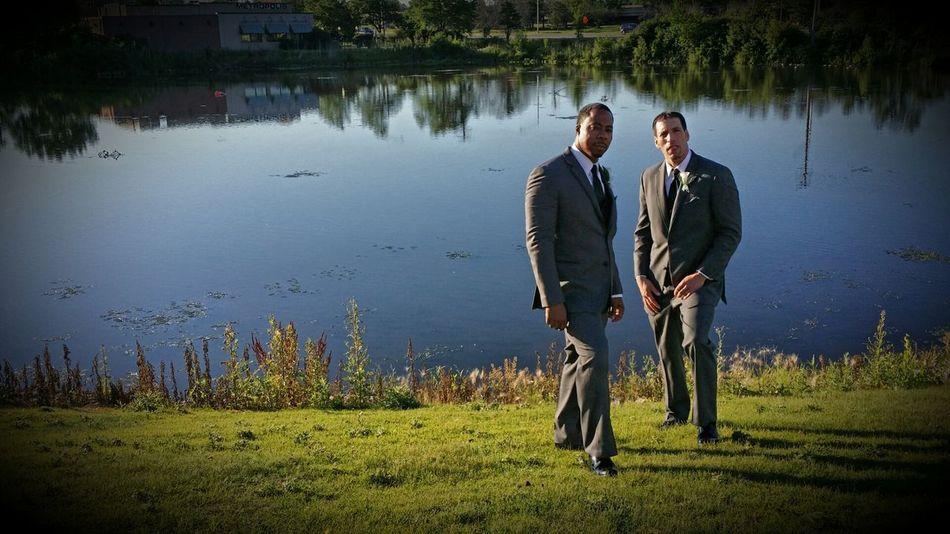 My best man and groomsman at my wedding. Wedding Party Groomsman Best Man tuxedo First Eyeem Photo