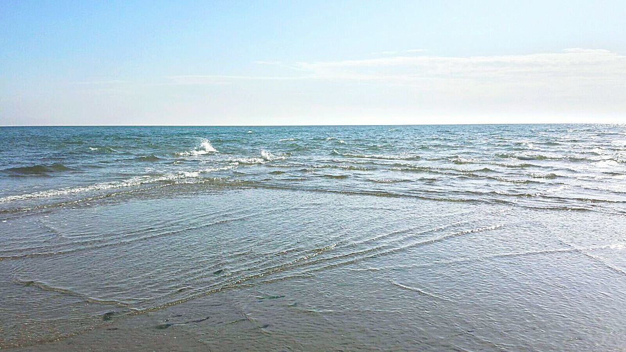 sea, horizon over water, nature, beauty in nature, water, scenics, tranquility, tranquil scene, beach, no people, outdoors, sky, rippled, wave, day, sand