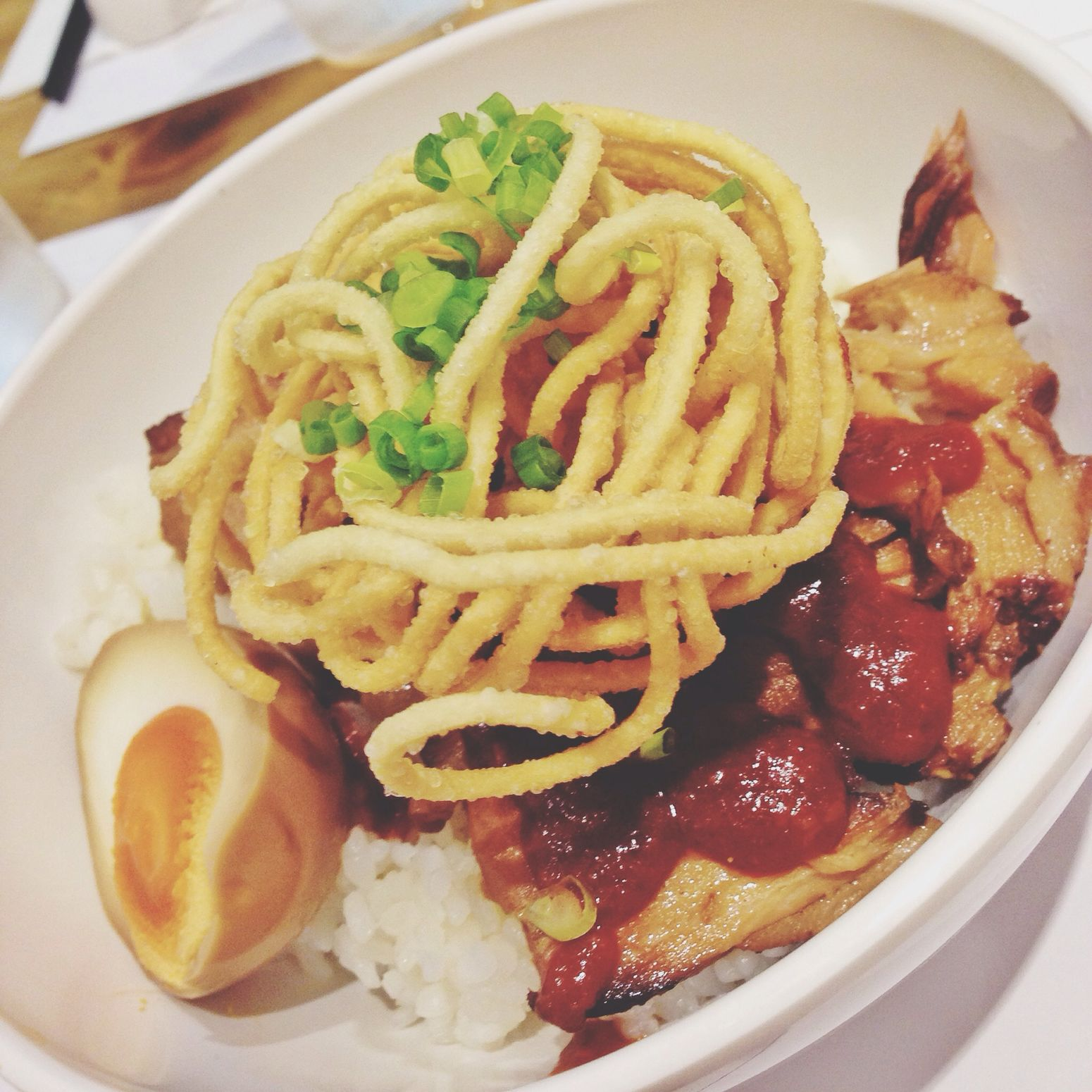 Spicy Kakuni Rice Bowl