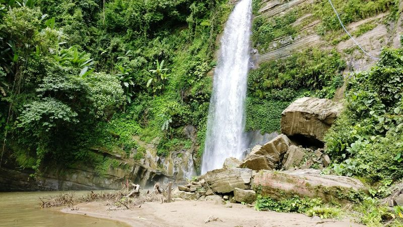 Madhabkunda waterfall is one of the largest waterfalls in Bangladesh. It is situated in Barlekha Upazila in Moulvibazar District, Sylhet Division. The waterfall is a popular tourist spot in Bangladesh. Every minute 200 cusec of water. BeautifulBANGLADESH Madhabkunda, Moulavibazar Waterfall Water Flowing Water Natural Beauty Sylhet