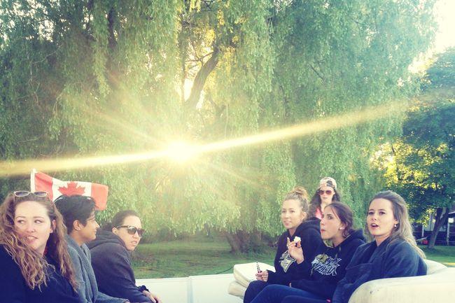 On A Boat Lake Simcoe Bachelorette Party Fun Times ♥ Cottage