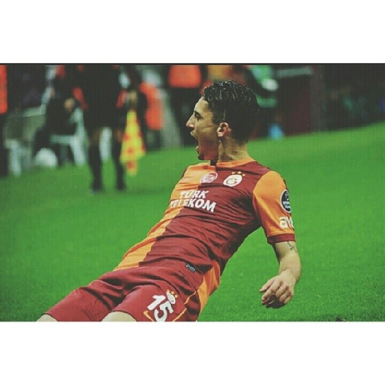 It's TELLES, bitchezz. SolBek GalataSaray Player Cool Goal FirstGoal Samba