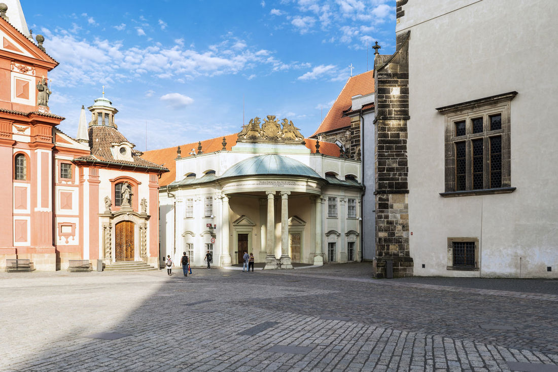 Views of the main monuments and streets of Prague, in the Czech Republic Architecture Bohemian Building Exterior Built Structure Capital Cities  Day European  History Architecture Landscape No People Outdoors Prague Czech Republic Sight Sityscapes Sky Streetphotography Travel Destinations