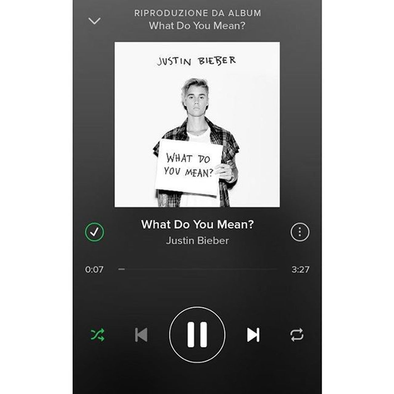 """What do you mean? When you nod your head yes, but you wanna say no. Whay do you mean? When you don't want me to move, but you tell me to go. What do you mean?"" My bae is f*ckin back! 😍❤ JustinDrewBieber Justin Teambieber Whatdoyoumean justinisback myking newmusic finally newsong alwayswithyou idol followforfollow beliebers likeforlike bae cute tagsforlikes squaready instamusic fridaymusic happy solocosebelle"