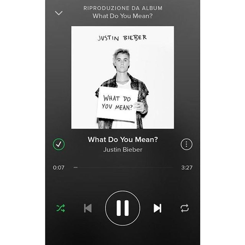 """""""What do you mean? When you nod your head yes, but you wanna say no. Whay do you mean? When you don't want me to move, but you tell me to go. What do you mean?"""" My bae is f*ckin back! 😍❤ JustinDrewBieber Justin Teambieber Whatdoyoumean justinisback myking newmusic finally newsong alwayswithyou idol followforfollow beliebers likeforlike bae cute tagsforlikes squaready instamusic fridaymusic happy solocosebelle"""