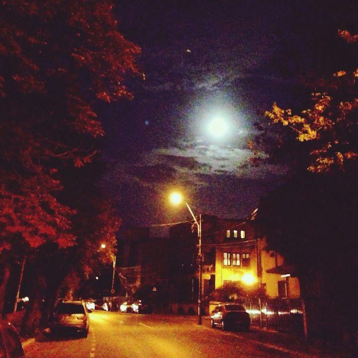 Melancholic Landscapes Nightcall Cotroceni Full Moon ??