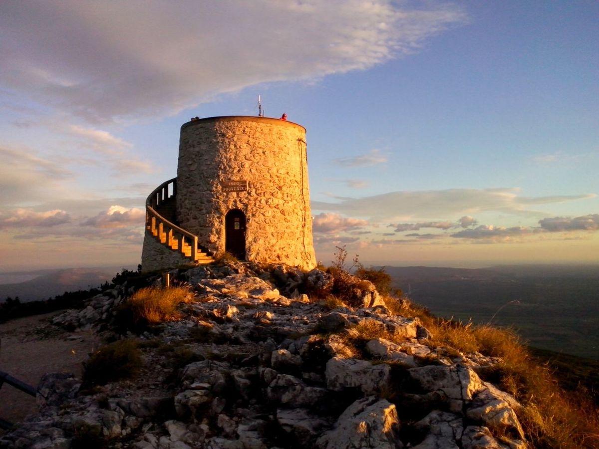 On The Top Of The Mountain Beautiful View Ucka Croatia Beautiful Nature