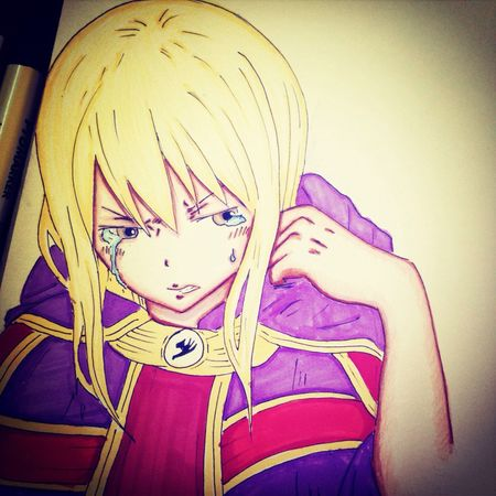 Lucy ❤️✏️ Lucy Heartifilla Lucy Anime Drawing Draw Art Manga رسوماتي رسمتي رسم