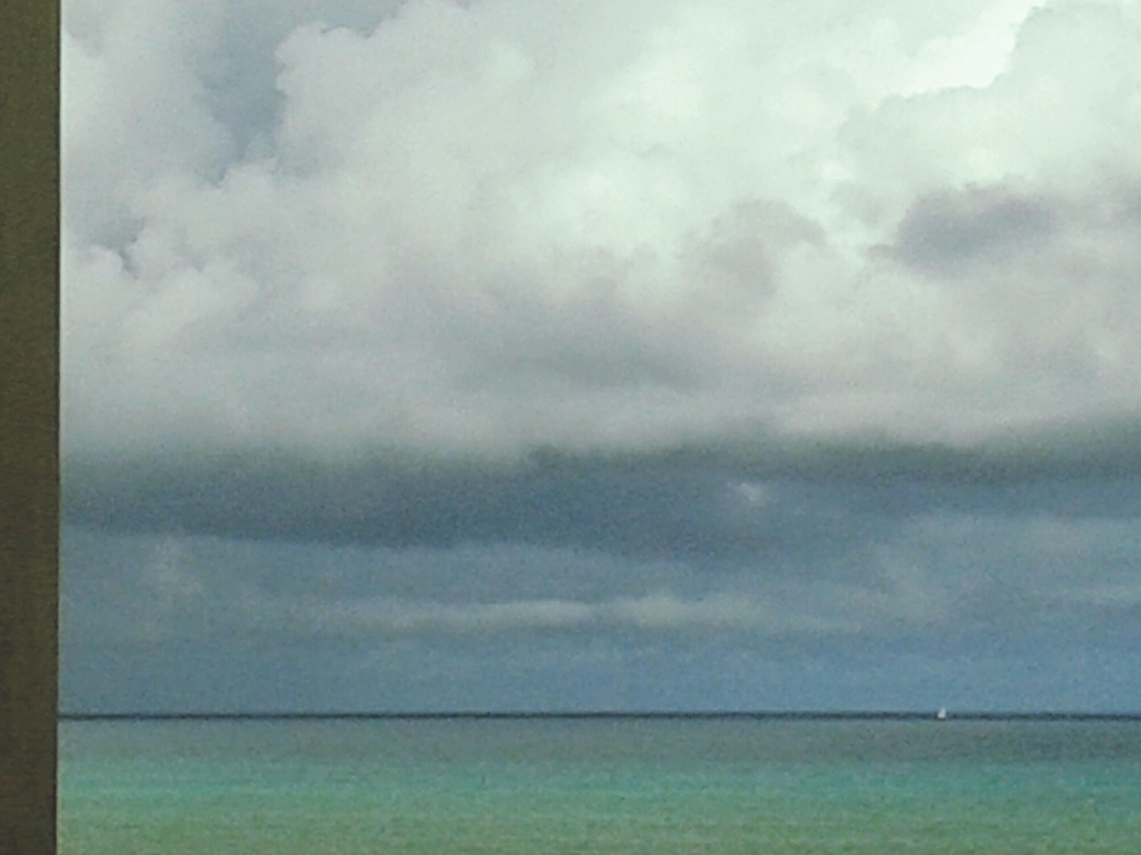 sky, cloud - sky, cloudy, sea, scenics, tranquil scene, tranquility, beauty in nature, water, horizon over water, weather, nature, cloud, waterfront, overcast, idyllic, storm cloud, cloudscape, outdoors, day