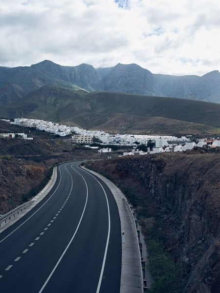 Mountain Road Mountain Range Landscape Transportation Curve Outdoors Nature No People Day Scenics Winding Road Sky EyeEmNewHere