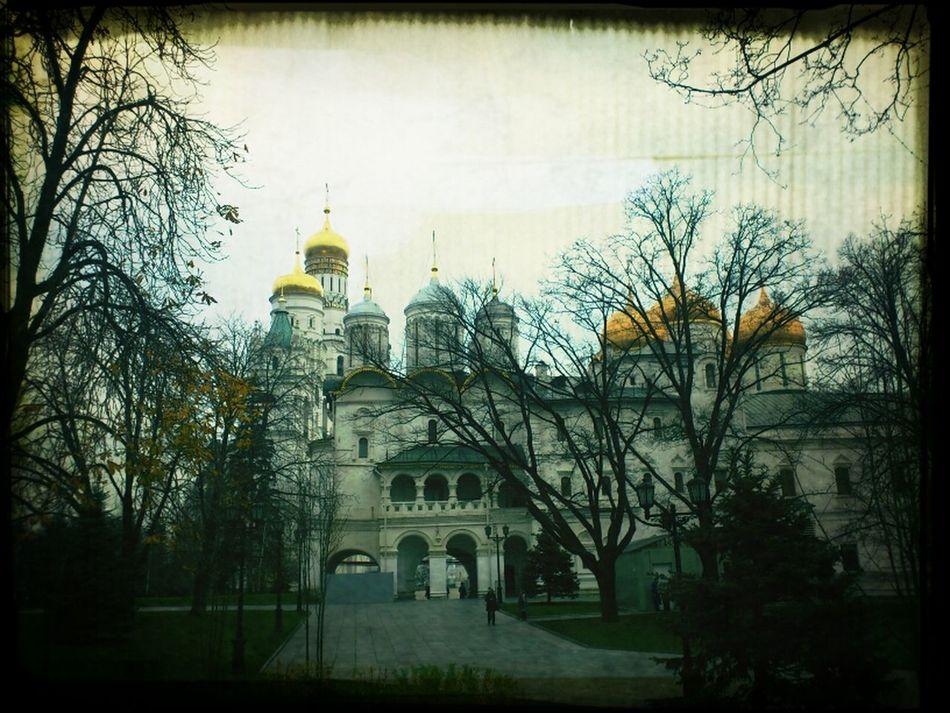 Moscow Kremlin Wintertime