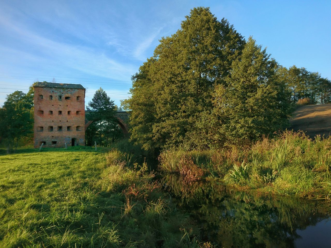 Architecture Built Structure Green Color Tree Outdoors Building Exterior Nature No People Sky Day Bunker Abandoned Abandoned Buildings Abandoned Places Polska Poland Warmia Bunkier Tomaryny Architecturelovers Naturephotography River Rzeka Pasleka