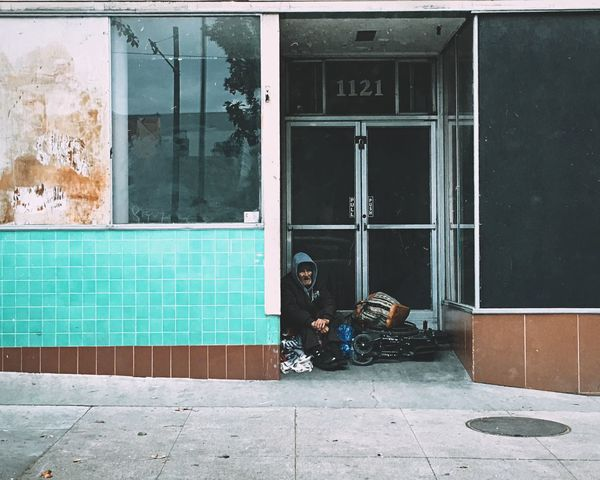 Sacramento IPhoneography Streetphotography Homeless