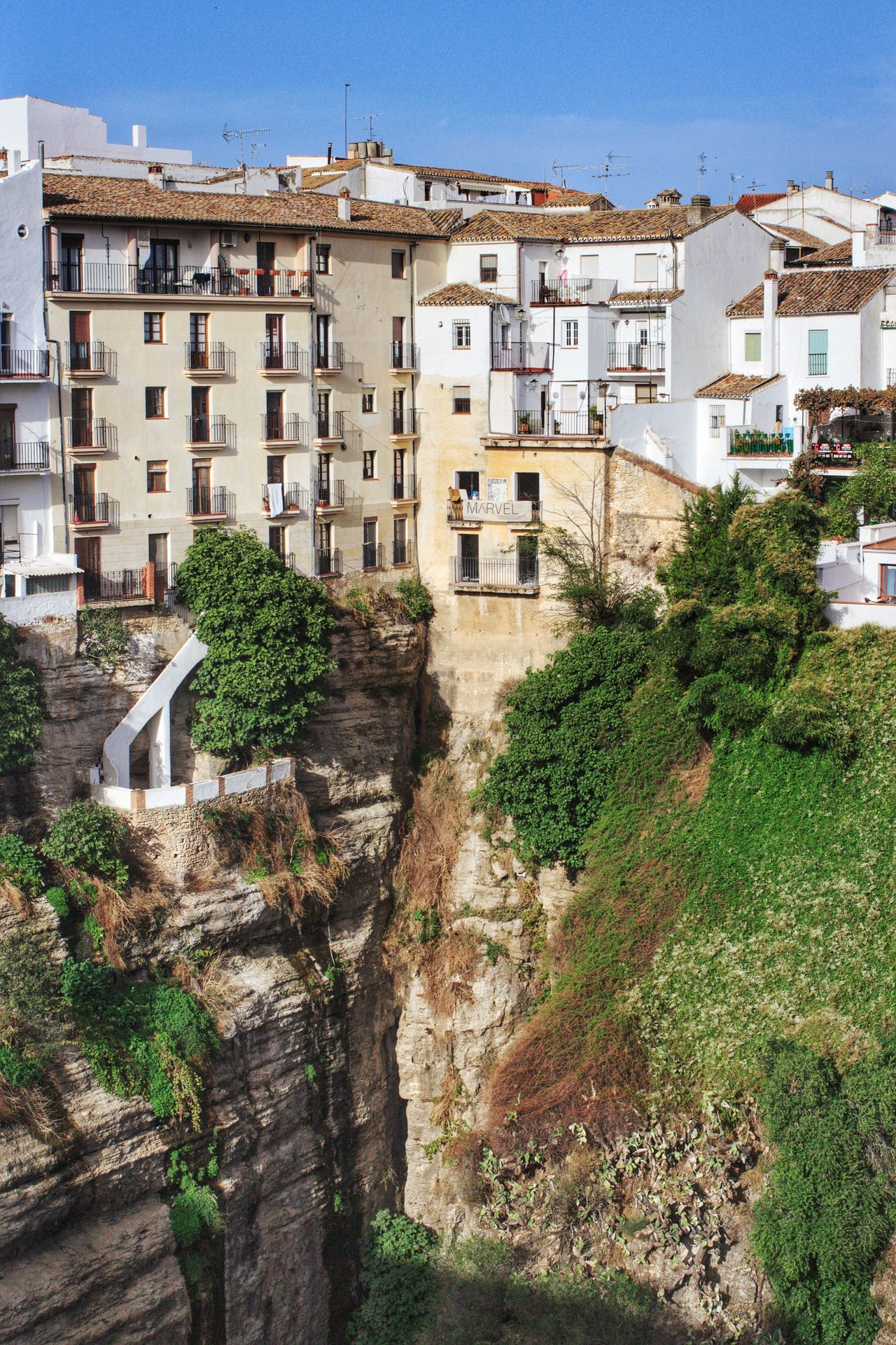 Architecture Building Exterior Built Structure Ronda Ronda Spain Ronda, Malaga Ronda Andalucia Cliff Cliffs Cliff Face Cliff Edge Tall Buildings Tall Building Andalucía Andalucia Spain Andalucian Town No People Outdoors Day Deep Valley Cliffside Cliff View Clifftop Near The Edge Scenic Landscapes
