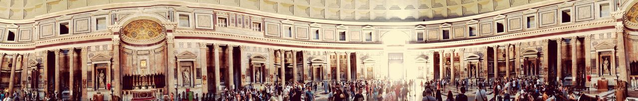 EyeEm Selects Architecture Built Structure Travel Destinations History Tourism Travel Architecture Archaeology City Rome Ancient Old Ruin The Past Monument Ancient Civilization Large Group Of People Travel Circle Spirituality Religion Place Of Worship Pantheon