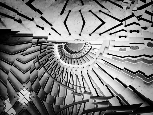 Shootermag AMPt_community Architecture Stairs Urban Geometry Black And White Blackandwhite IPhoneography The Architect - 2015 EyeEm Awards Stairways