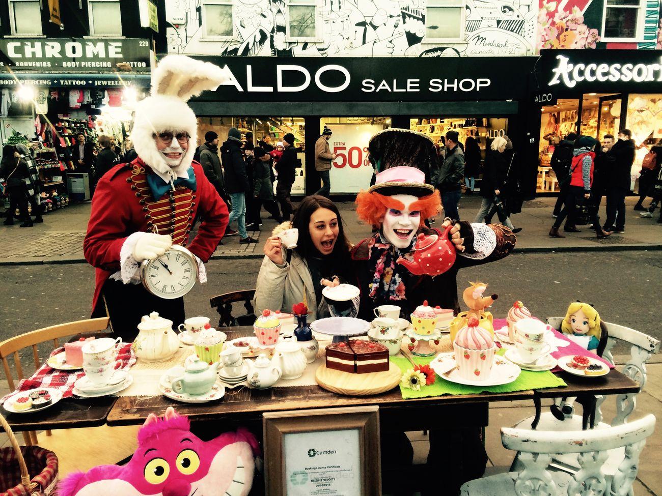 A merry very unbirthday to youu! 🎂🎁☕️ Teatime Aliceinwonderland London