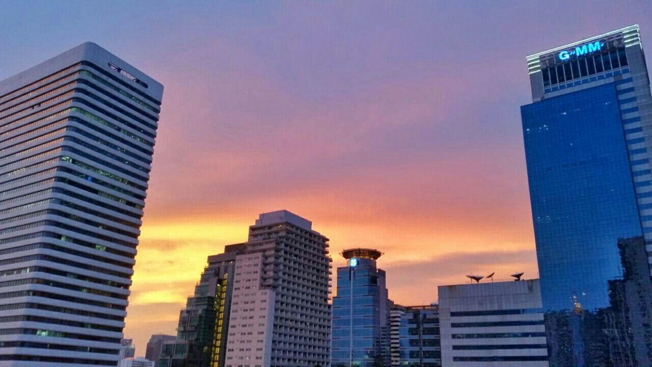 Bangkok Thailand Bangkok Skyline Thailand Sky