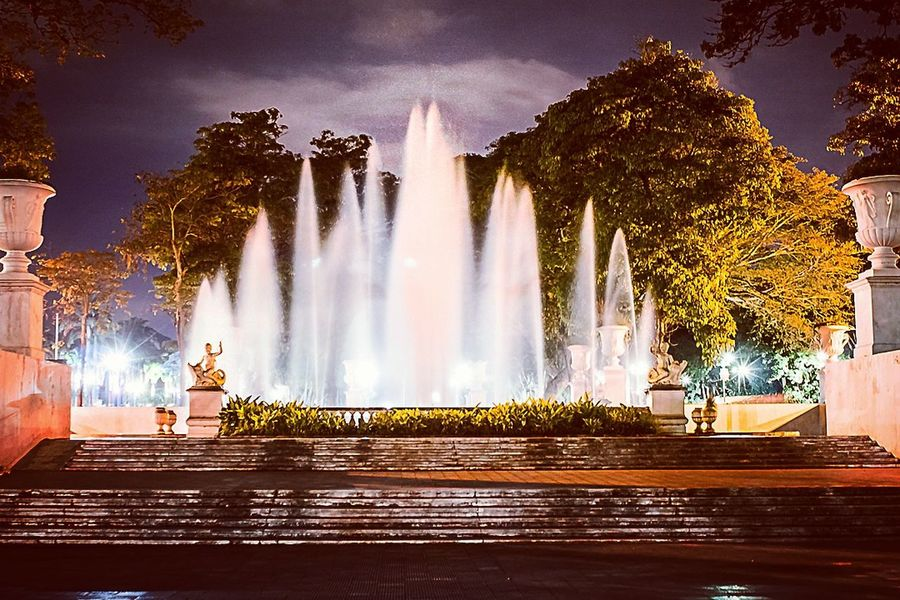 Place Of Worship Representing No People Night City Cultures Travel Destinations Sky Cityscape Outdoors Fountain History
