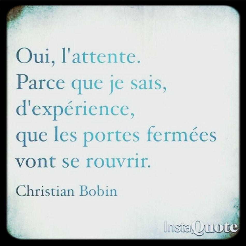 Citationdujour BobinHope.✌