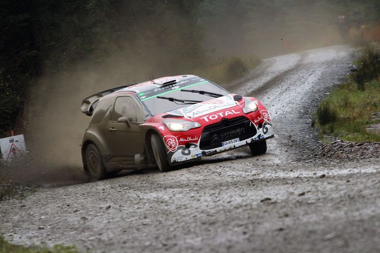 Rally GB, WRC, Wales, 2016, Committed, Flat out, Citroen