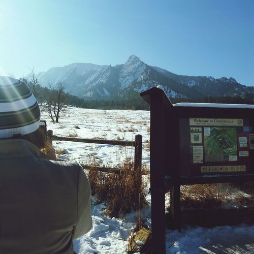 Flatirons Famous Place Winter Wonderland Hiking Trail Flatirons Boulder Here Belongs To Me Landscapes With WhiteWall