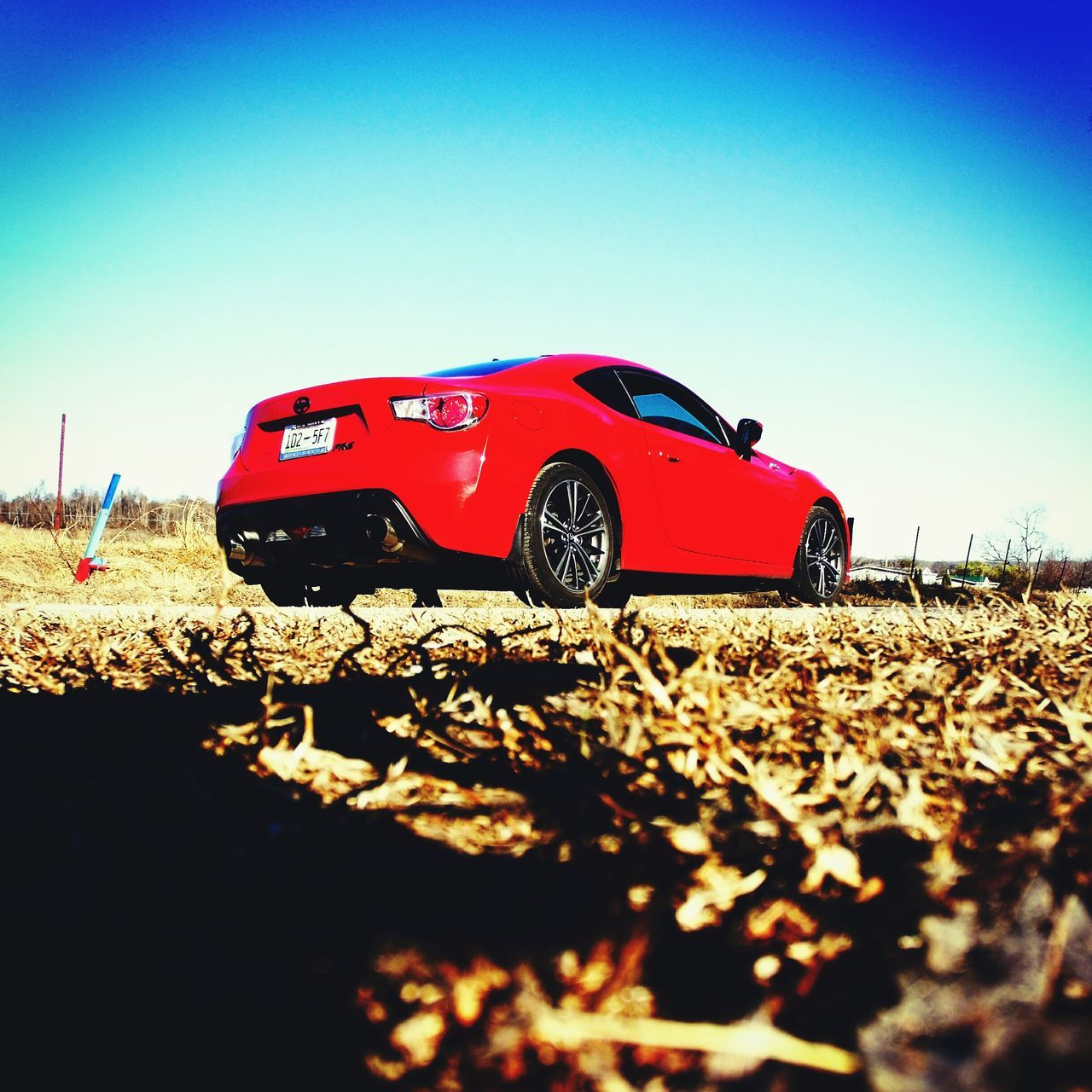 Car Red Sunlight No People Motorsport Outdoors Day Sky Transportation FRS Scion  Scion Fr-S Vehicle Breakdown
