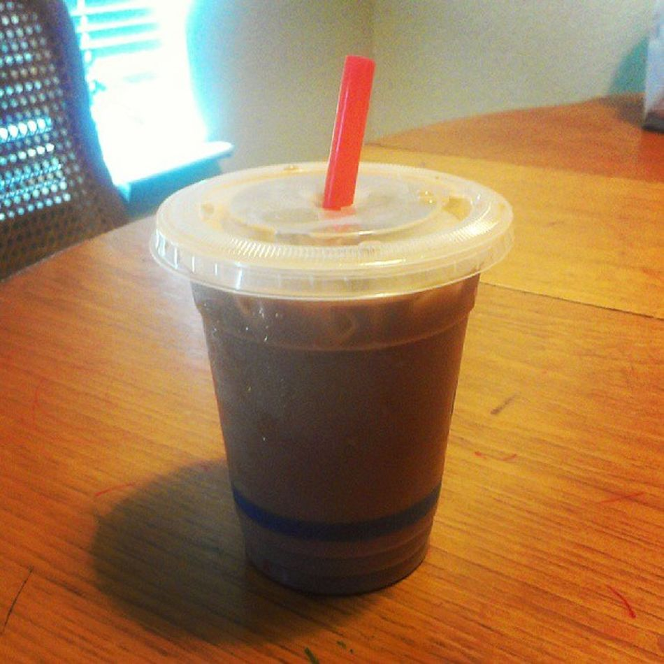 mmm...#icedcoffee. Just what I needed this morning. #caffeine Coffee Caffeine Icedcoffee Lookatthatcoffee Betches Betcheslovethis
