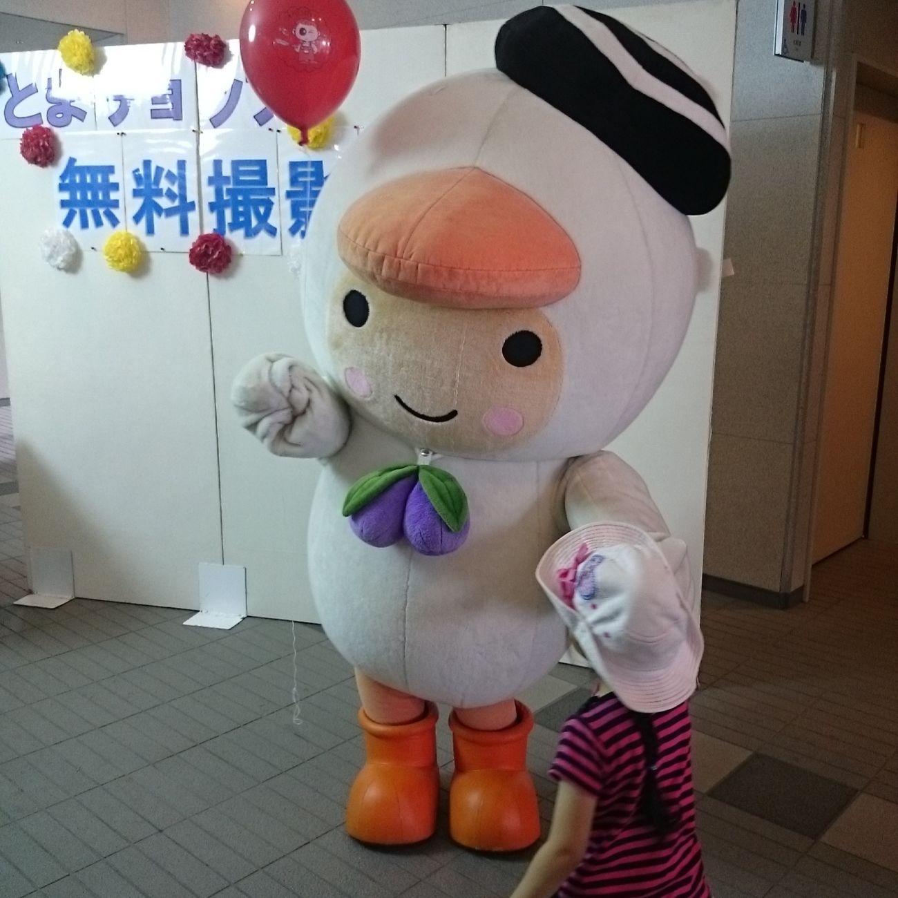 Tomachop Hokkaido,Japan Mascot Characters Of JAPAN ご当地キャラ  エコフェスタに来ていたとまチョップ(・ω・)。