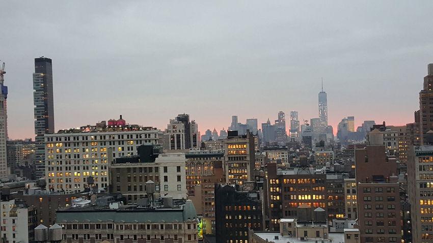 NYC Skyline NYC Nycskyline  Sunset Ilovenyc Iloveny Oneworldtradecenter