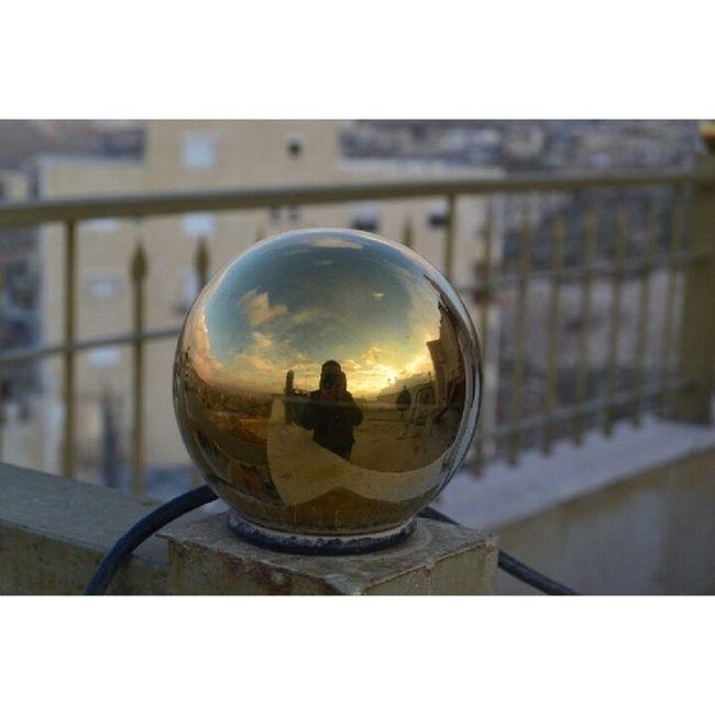 motasemash motasemash Golden Ball Sky Sky_masters skyviewers reflection clouds amman seeamman beamman spiritofjordan jordan motasemash sun sunrays discoveramman discoverjo beautifullamman beautifuljordan